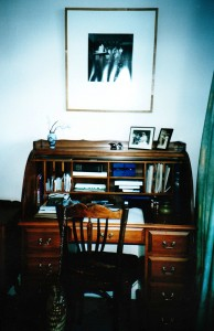 The writing desk at Rakau Road
