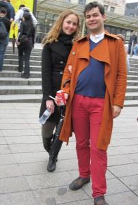 Tobias and Emma-Jayne in Paris